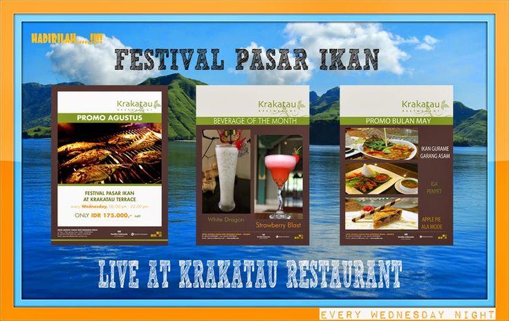 FESTIAL PASAR IKAN ( HOTEL SANTIKA TMII ): FESTIAL PASAR IKAN ( HOTEL SANTIKA TMII )