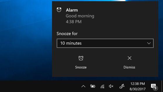 How to use Alarms & Clock app in Windows 10 Alarm clock