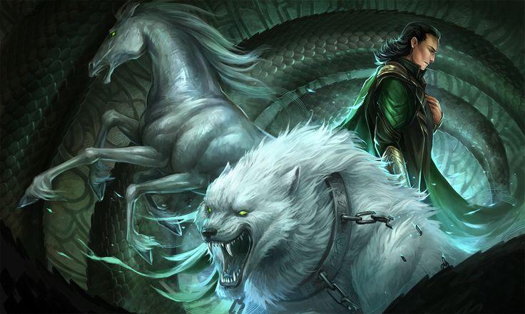 Loki's Children by *sandara on deviantART