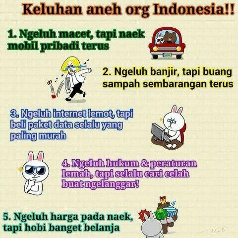 LINE stiker: Keluhan aneh orang Indonesia!!