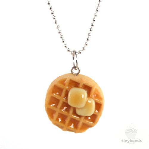 """""""Leslie Knope's Waffle Necklace 
