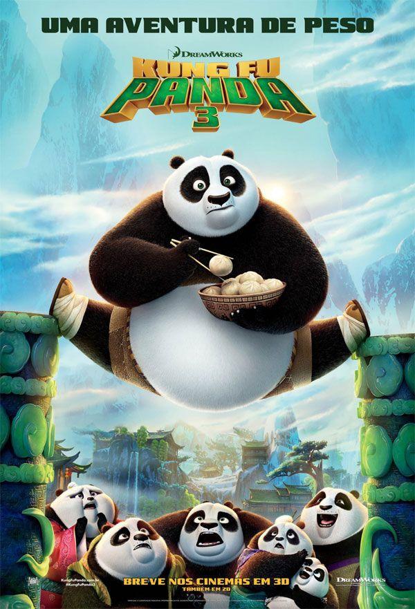 Novos trailers e cartaz nacional da animação 'Kung Fu Panda 3'