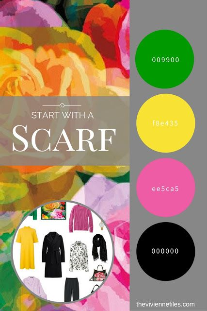 Is It Possible to Pack an Interesting Overnight Bag? Start with a Scarf: The Joy Rose Scarf by KathKath