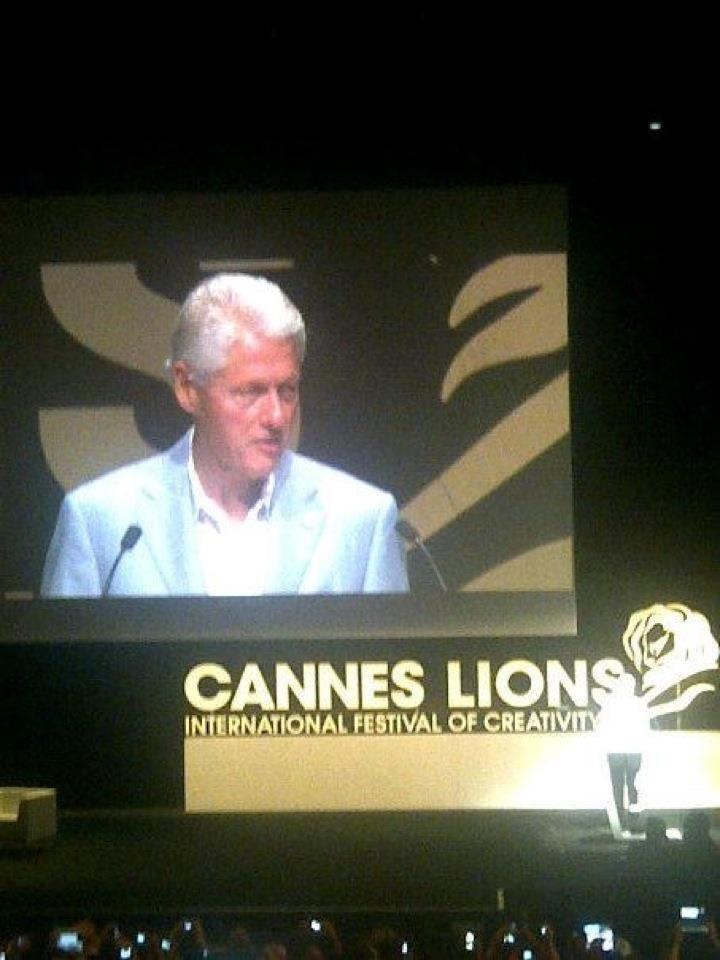 Clinton em Cannes