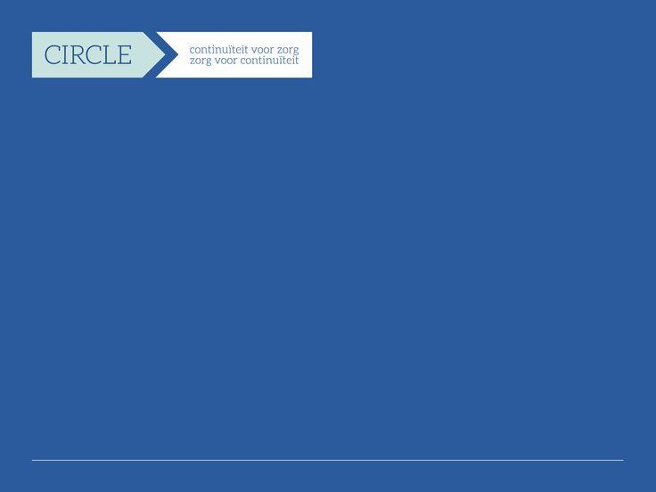 Logo en Powerpoint template voor Circle