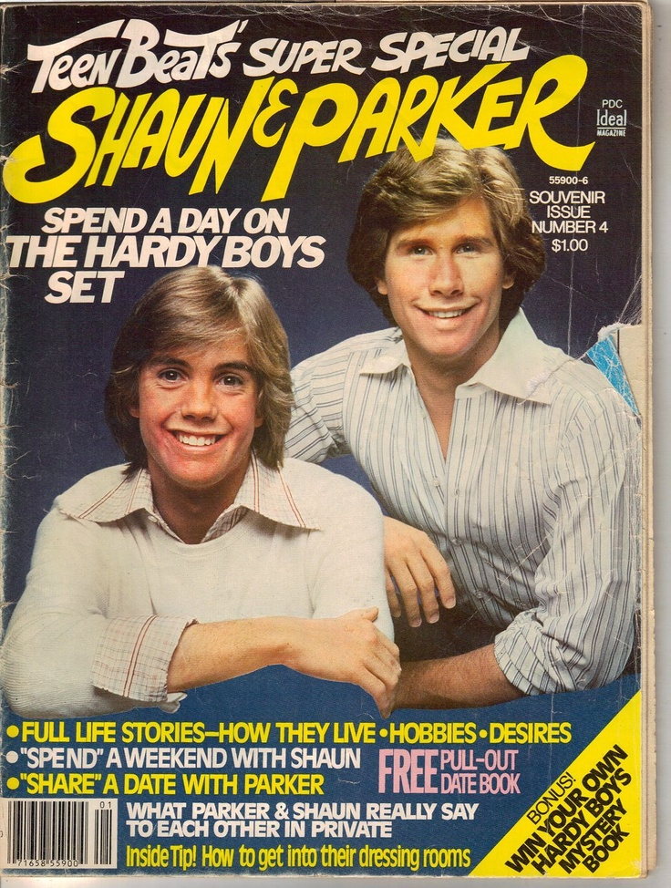 1977 Teen Beat's Super Special Shaun Cassidy And Parker Stevenson