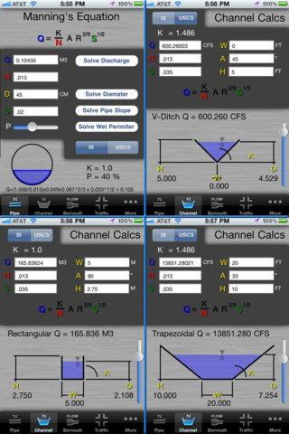 Civil Calcs by Jamoke Innovations LLC - This program was designed to provide Civil Engineers and Land Surveyors with a quick way to calculate or check points on portions of a roadway profile, area calculations, drainage/flow calculations, traffic counts, etc. - #roadwayprofile #areacalculations #drainage #flowcalculations #trafficcount