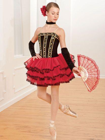 Spanish Rose - Style 0194 | Revolution Dancewear Ballet Dance Recital Costume
