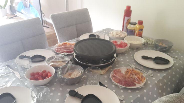 eten 3 ~ met broer, schoonzus, moeder (net terug van vakantie) en mijn vriendje