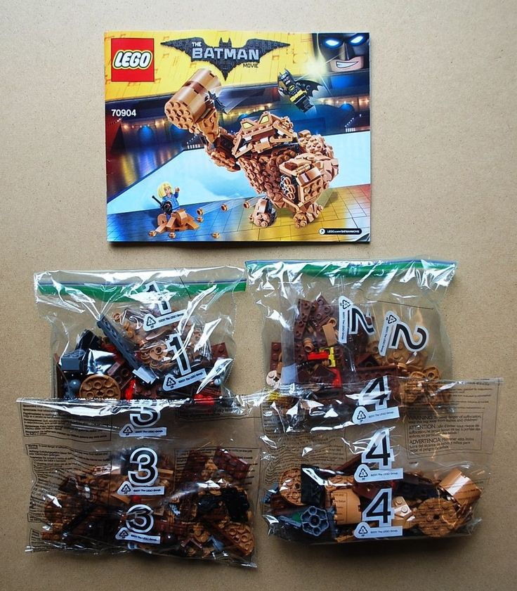 Lego 70904 Batman Movie Clayface Splat Playset Only Loose