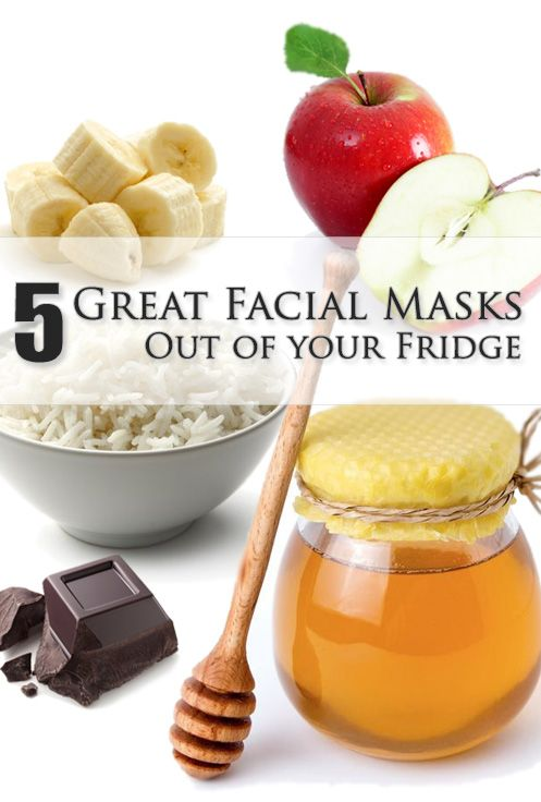 5 Great Facial Masks Out of your Fridge