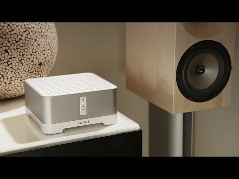 Sonos Connect Amp - A Smart in home. Video with more details. YouTube