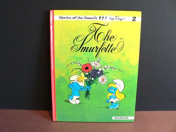 The Smurfette Hardcover Children's Book  Graphic Fiction