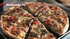 Pizza jak z pizzerii -HIT każdej imprezy! - Gotuj.Skutecznie.Tv   video przepisy na proste, smaczne i szybkie w przygotowaniu dania