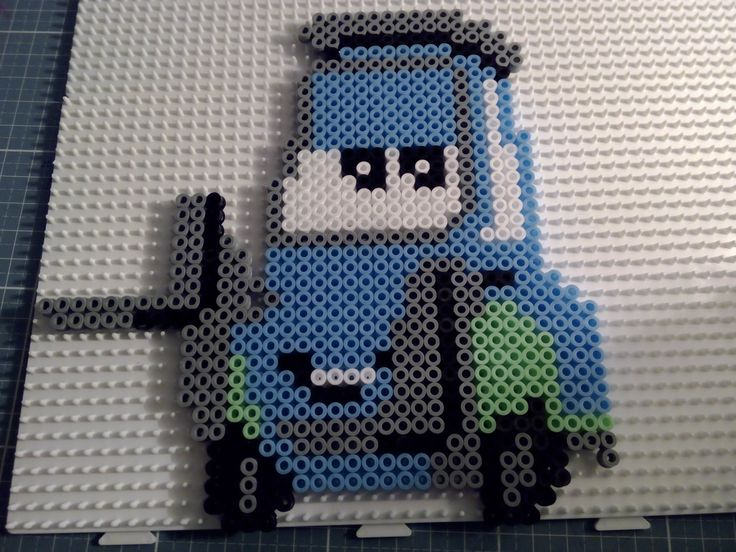 Hama beads Perler Disnay Cars Guido
