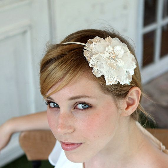 STYLE - #224 CODE: HDB013 Lace blossom headband features delicate lace single flower made of 5 layers of laces and organza petals. Each petals have unique textures and beadings creating beautiful sparkles and shine. To order yours, contact us on loca@localoca.co.za www.localoca.co.za