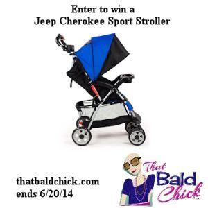 Jeep Cherokee Sport Stroller Cobalt Blue