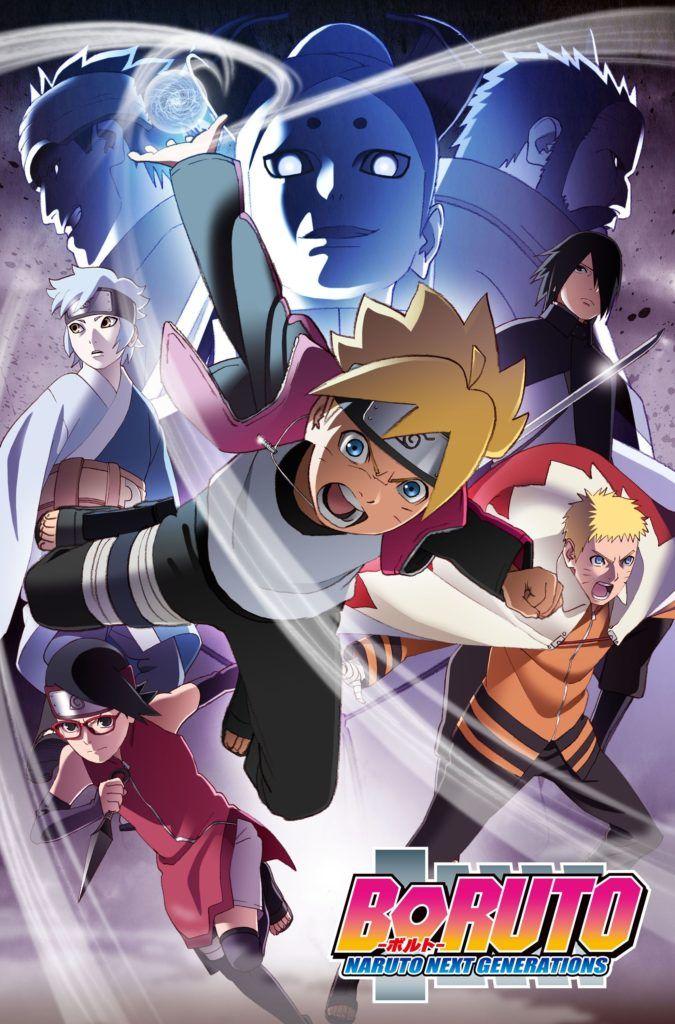 Descargar Boruto Naruto Next Generation 152 720p Sub Espanol Mega Boruto Movie Artwork Keys Art