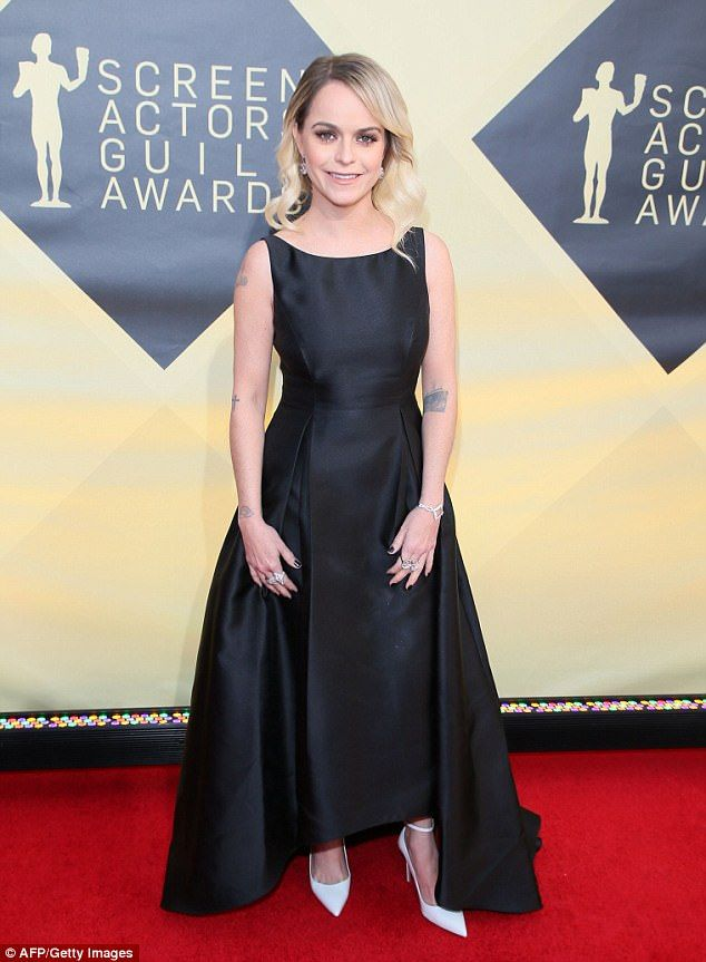 Surprised: Taryn Manning revealed that she is angry at her stylist for dressing her in a $...