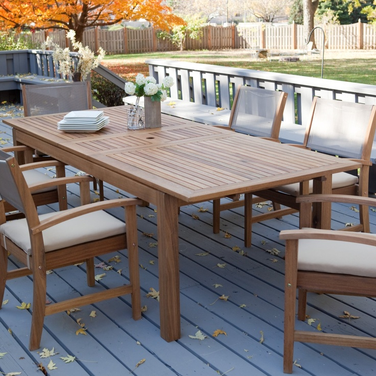Whitman Collection Dining Set   Seats 6   Dining Patio Sets At Patio  Furniture USA