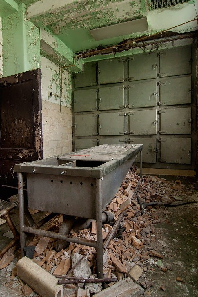 Pathology - Photo of the Abandoned Pilgrim State Hospital