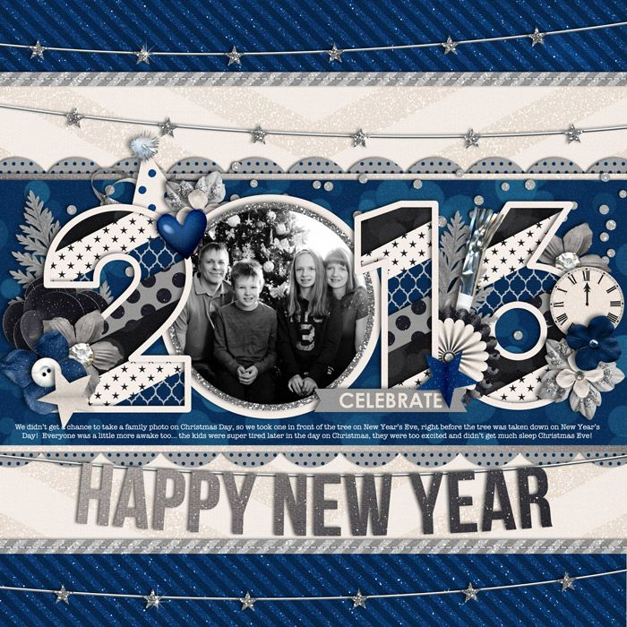 Used the following from the Sweet Shoppe: *NEW* Half Pack 175: Happy New Year by Cindy Schneider Celebrate: A New Year Bundle by Libby Pritchett and Amanda Yi