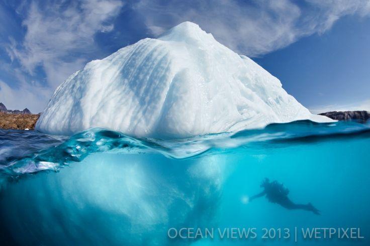 """Ninth Prize: ©Tobias Friedrich. """"Iceberg noraw"""""""