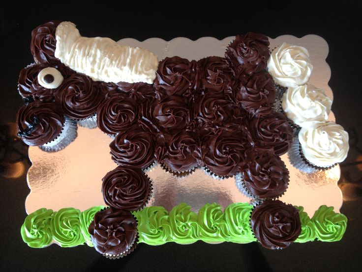53 best Cupcake cakes images on Pinterest Cupcake cakes