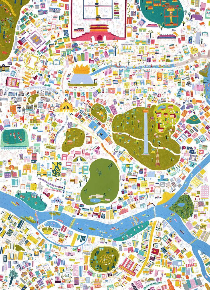 SEOUL MAP - MIN'S STUDIO