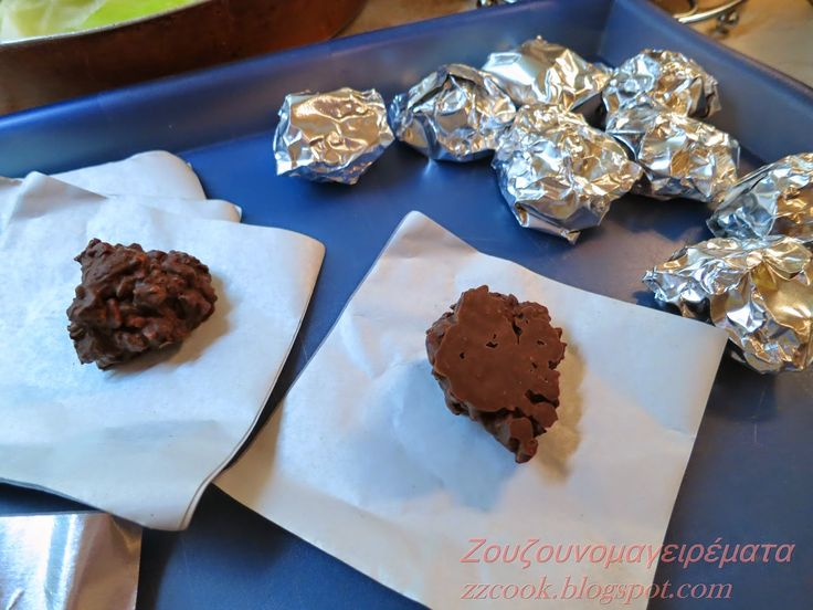Ζουζουνομαγειρέματα: Σοκολατάκια με αμύγδαλο (ανώμαλα) με 3 υλικά!