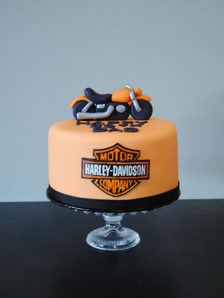 Harley Davidson birthday cake from the Handmade Cake Company