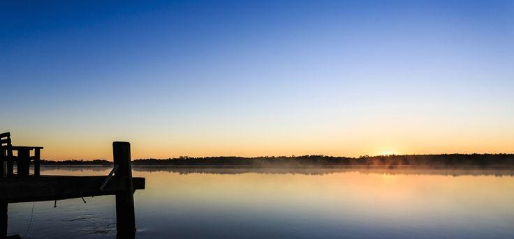 The River Shack - Yamba accommodation - Byron Bay - waterfront property - Oyster Channel