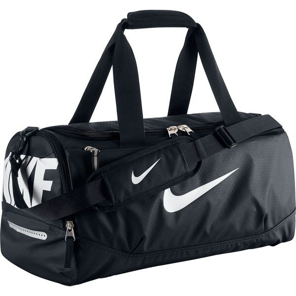 Nike Team Training Small Duffel Bag (69 AUD) ❤ liked on Polyvore featuring bags, luggage and duffle bag