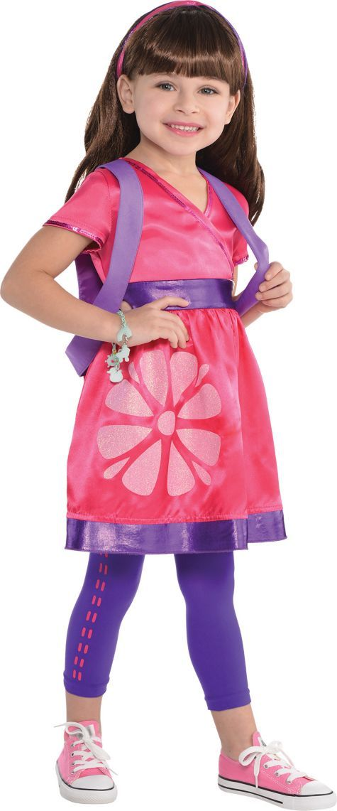 Toddler Girls Dora Costume - Dora and Friends - Party City