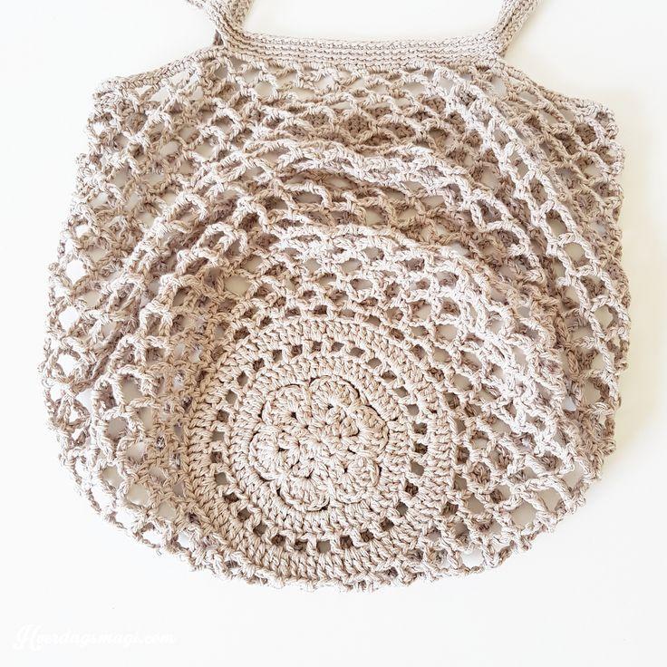 Rustic Market Bag pattern by Camilla N. Skjoenhaug Beth Rhebergen