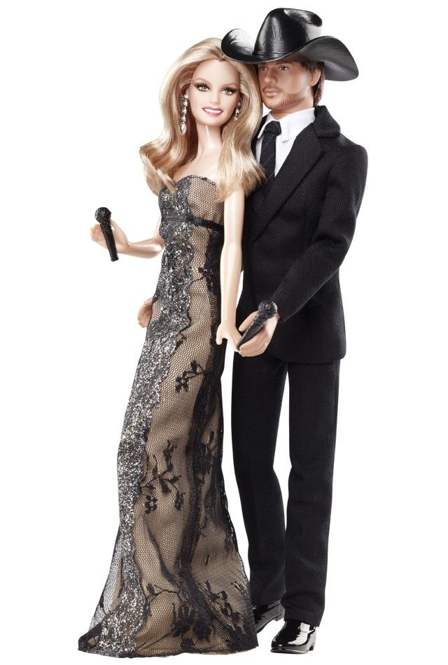 These two celebrities make beautiful music together, and the Tim McGraw & Faith Hill dolls capture the sensational star power of this dynamic duo!