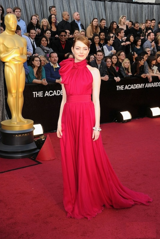 Emma Stone in Gambattista Valli. Why is she always SPOT ON?! Love