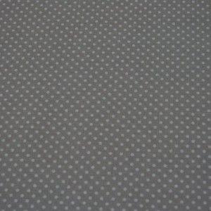 http://www.radicifabbrica.it/prodotto/tessuto-h-cm-290-pois-rosa/ Tessuto in 100% cotone con fondo grigio e piccoli pois bianchi, ideale per confezionare lenzuola, copripiumini e culle. Il tessuto è alto cm 290. Il prezzo di Euro 10.00 si intende al metro lineare.  Prodotto in Italia.  Possiamo confezionare questo articolo su misura, richiedici un preventivo!
