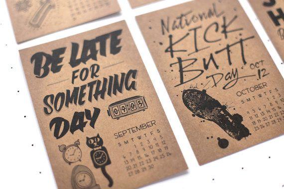 silly holidays calendar