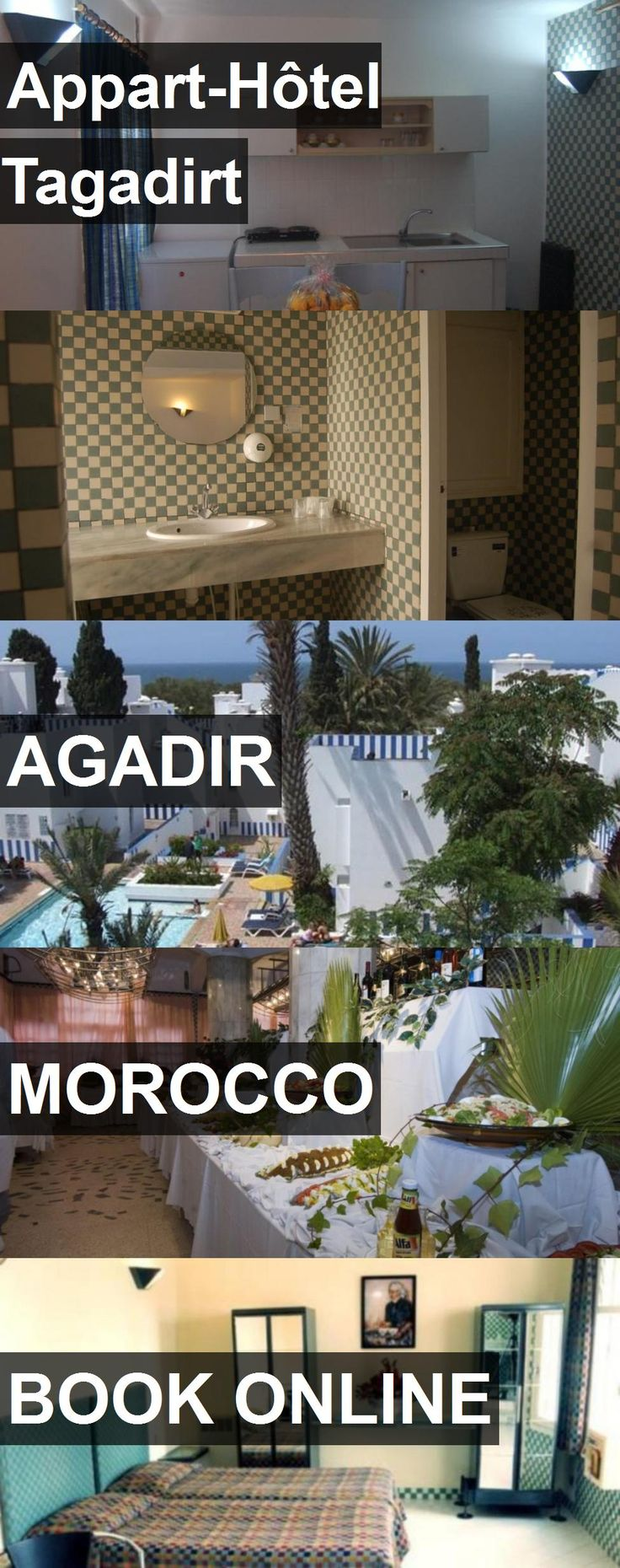 Hotel Appart-Hôtel Tagadirt in Agadir, Morocco. For more information, photos, reviews and best prices please follow the link. #Morocco #Agadir #travel #vacation #hotel