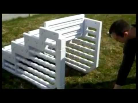 Easy Above Ground Pool Steps - YouTube
