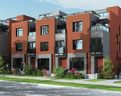 The Pre Sale Block Vancouver Townhouses Are Family And Executive City Homes  For Sale In East Vancouver Off Main Street.