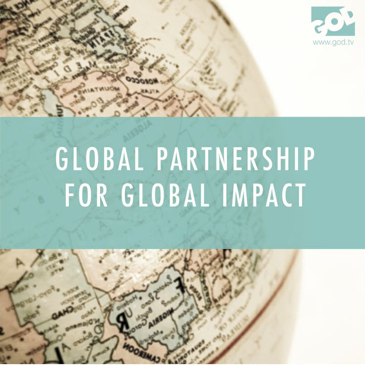Bringing the Gospel to every country is accomplished through partnership with God and partnership with each other.  Learn more at www.god.tv