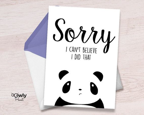 Best 25+ Sorry cards ideas on Pinterest Im sorry cards, Sorry - free printable apology cards