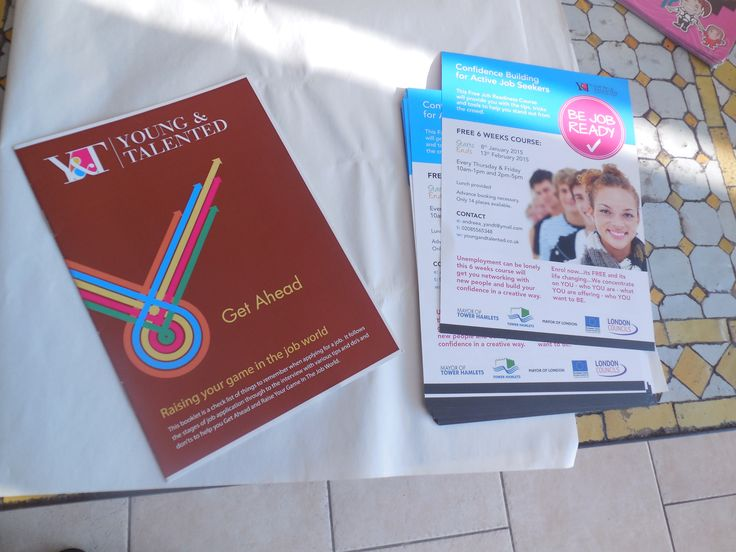 Our flyer and learning booklet for participants