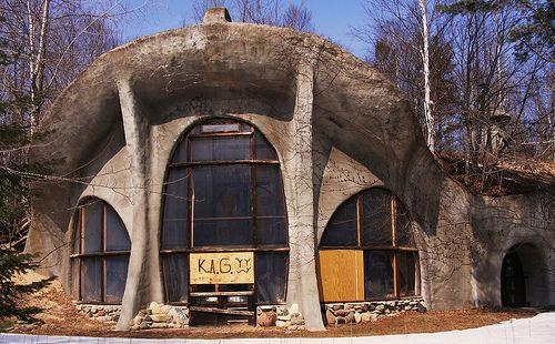 Abandoned Mushroom House Door County Wi Abandoned