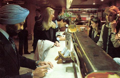 """TBT 1980 - In our restaurant at the time, """"Sheriff"""" we served the popular """"Night table"""" between 10 pm and 2:30 am for the costs of SEK 2 per person. This was also the year we replaced all our beds to the Swedish brand @Hästen."""