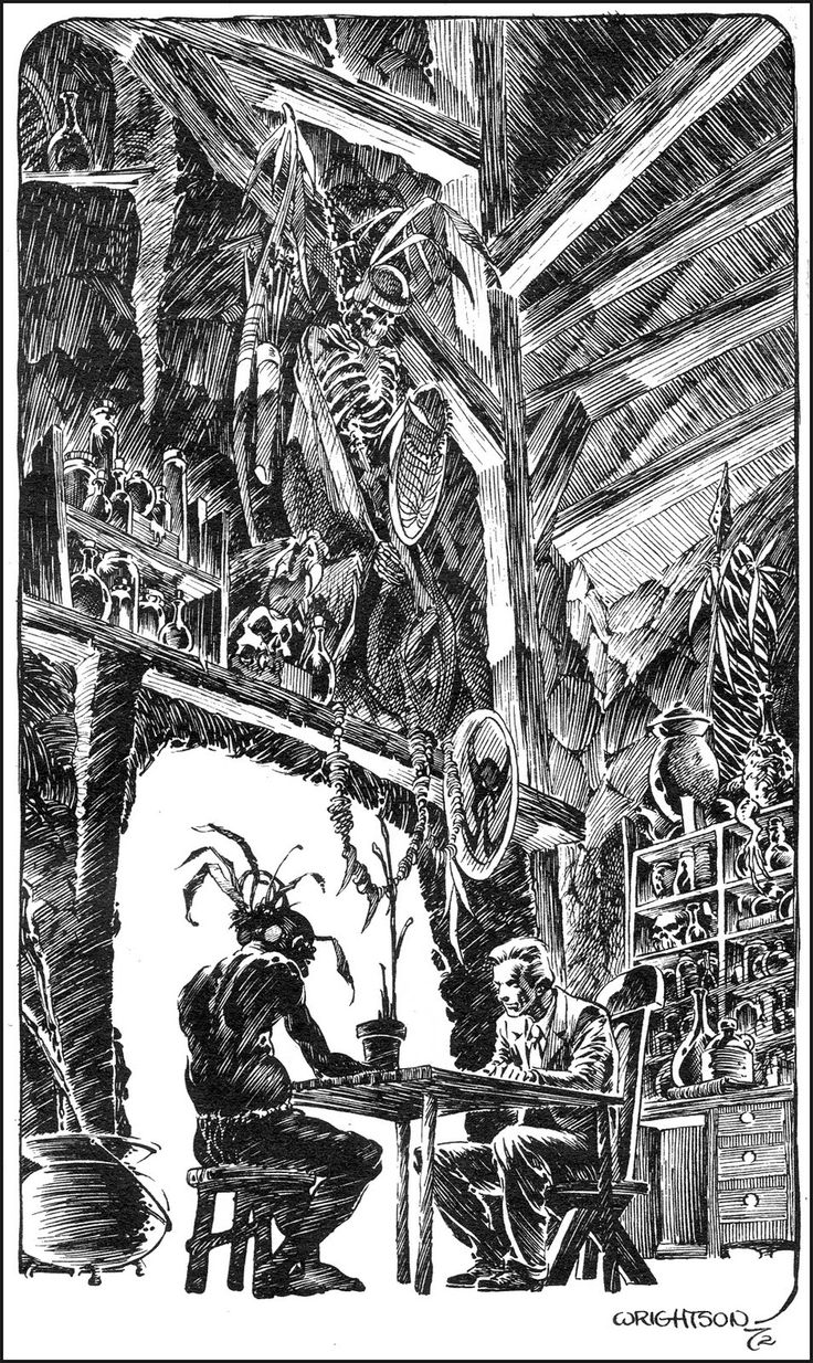 09 Berni Wrightson House of Mistery You only die once