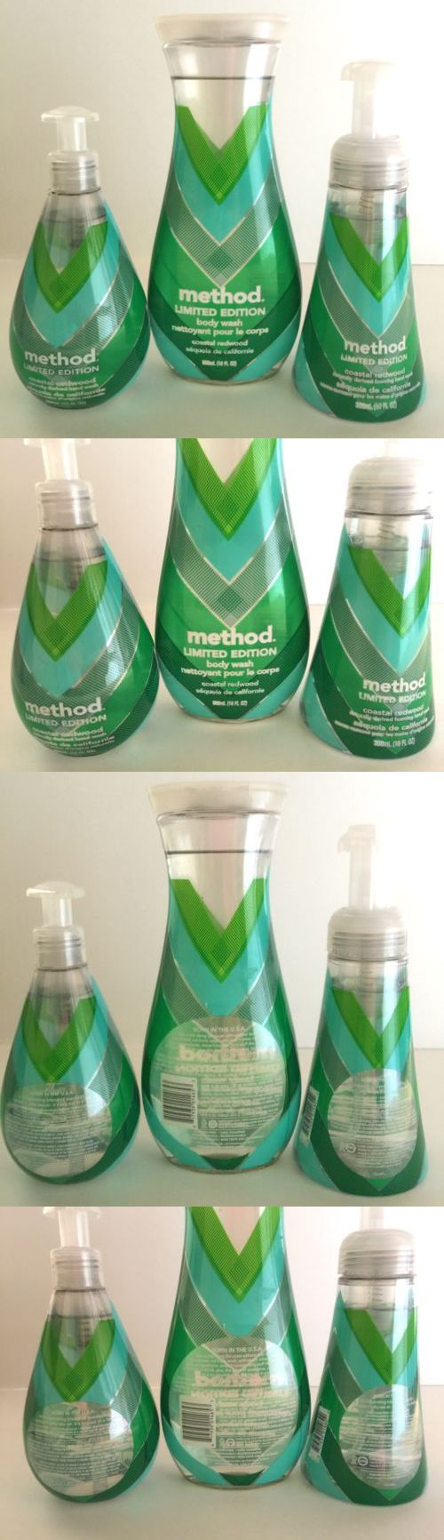Hand Washes: Method Collection Coastal Redwood Foaming Hand Soap Shower Gel Set -> BUY IT NOW ONLY: $47.99 on eBay!