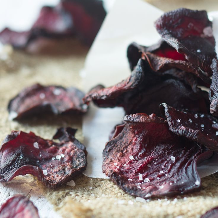 Knusprige Rote Bete-Chips